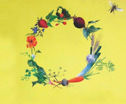 Glasgow - Cropped Seed Kist wreath